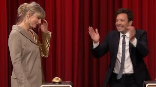 Taylor Swift FAILS to Recognize Her Own Song in Game with Jimmy Fallon Video