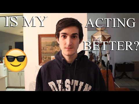 Working On My Acting (Good Acting vs Bad Acting Remake)