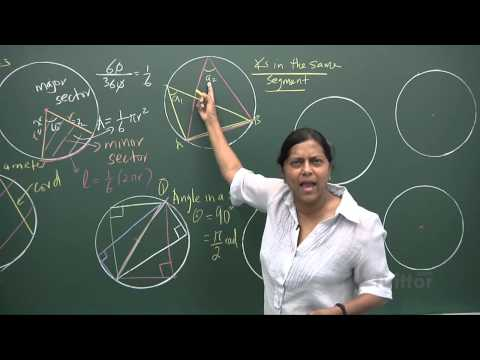 Circle Properties (Elementary Mathematics Secondary 3/4)