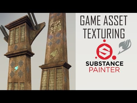 Game Asset in Substance Painter ~ 3D Texturing