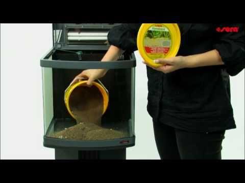 Sera aquarium biotop setup youtube for Sera aquarium