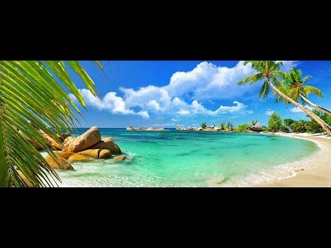 Seychelles Mahe Island . Beau Valon beach