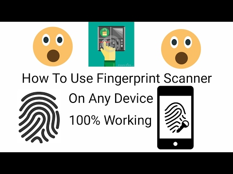How To Use Finger Print Scanner On Any Device L Android L IOS