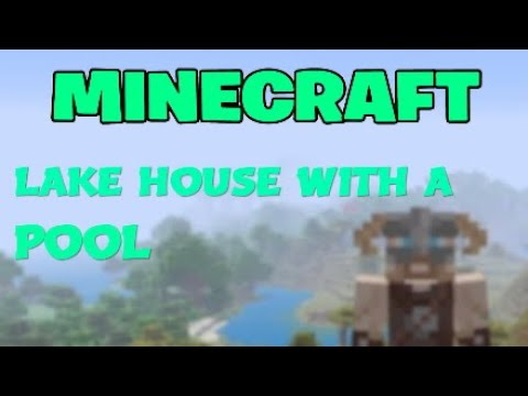 I Made A LAKEHOUSE In Minecraft #Minecraft #RoadTo600Subs #MinecraftLakeHouse #LakeHouse