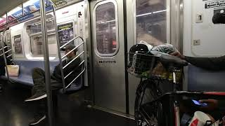 MTA NYC Subway|Crown Heights Bound R142A (4) train ride from 14th Street Union square to Franklin Av