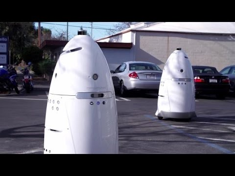 Robot Cops Are Real