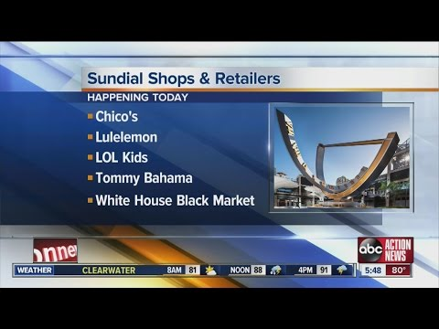 Sundial Shopping Center To Announce Lineup Of Shops And Retailers