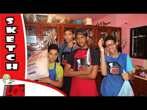 Hombres en la cocina #LOL