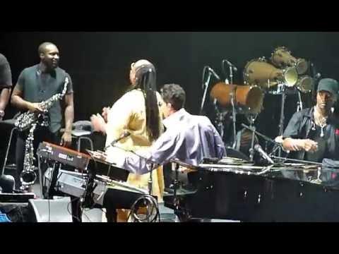 Stevie Wonder et Prince - Superstition - Paris Bercy 01 07 2010