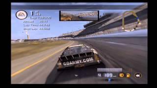 NASCAR 08 | 100% Daytona 500 | PS2, Legend Diff, Fuel Tires Consumption On