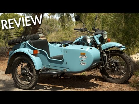 Ural 2WD Sidecar Motorcycle - MotoGeo Review - YouTube