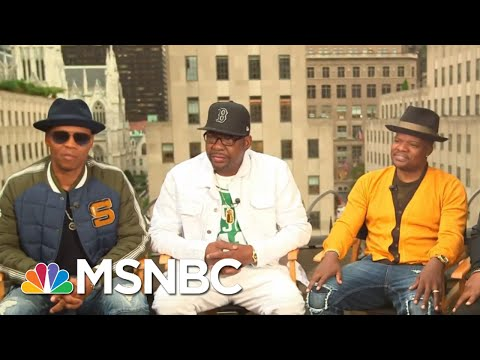 New Edition Reflect On Their 40 Year History | The Beat With Ari Melber | MSNBC