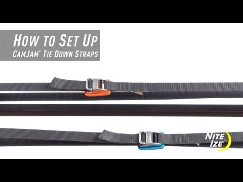 How To Set Up The CamJam® Tie Down Straps
