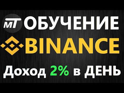 BINANCE Обучение - Как торговать биткоином на бирже