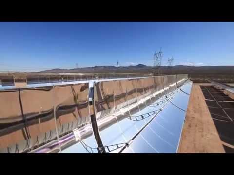 Parabolic Trough Concentrated Solar Power Technology Energies renouvelables au maroc