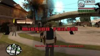 GTA San Andreas - OG Loc mission glitch (Big Smoke mission #1)