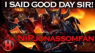 I SAID GOOD DAY SIR! NiP.jonassomfan vs. Empire Dota 2