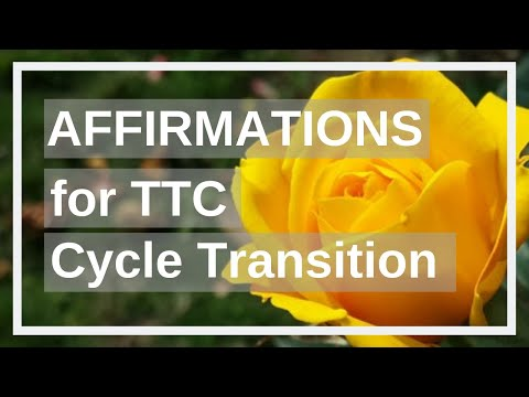 CD1 Fertility Affirmations for Getting Pregnant, Cycle Transition