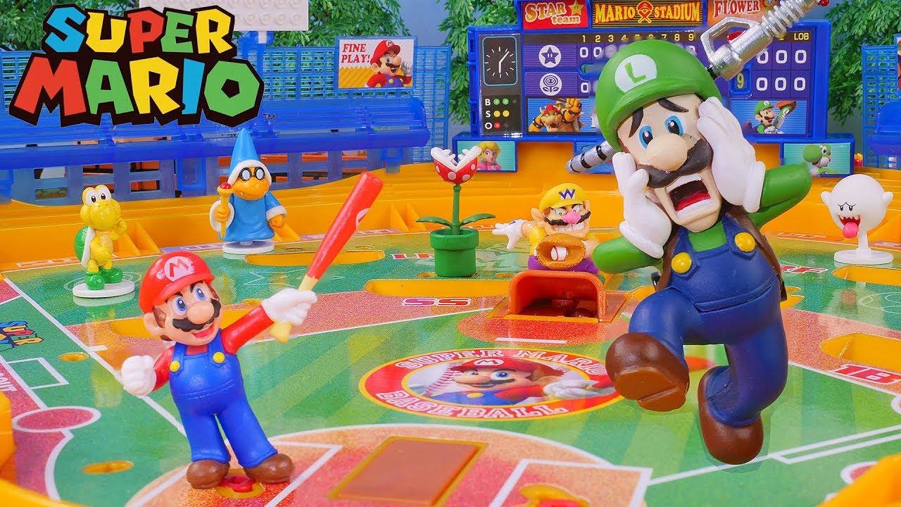 Super Mario baseball board toys