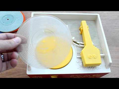3D Printed Custom Disc For A 1970s Fisher Price Record Player