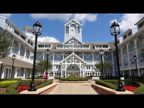 BEACH CLUB RESORT & VILLAS Comprehensive Tour  - Walt Disney World Florida