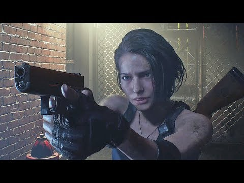 Resident Evil 3 Remake - Raccoon city Demo Gameplay - No Commentary