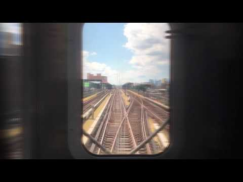 On-Board a 34th St-Hudson Yards bound R188 (7X) EXP Train from Flushing-Main St to Queensboro Plaza