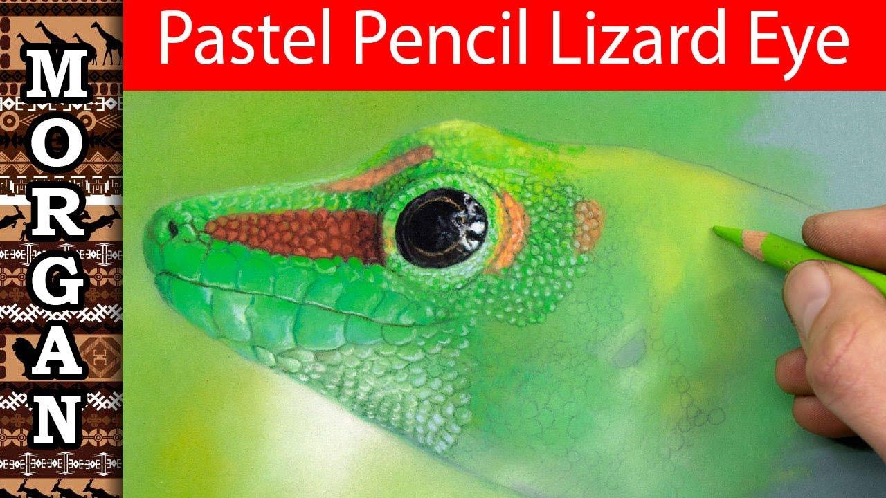 Pastel Pencil Eye - video