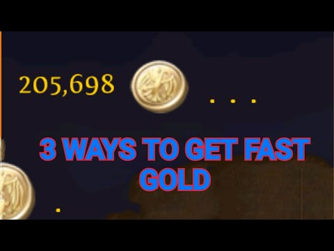 ORDER AND CHAOS - 3 WAYS TO GET GOOD GOLD