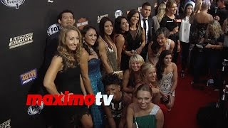 The Ultimate Fighter Season 20 Premiere Red Carpet Arrivals with Ronda Rousey