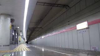 深夜の都営浅草線 E5000形+大江戸線12-000形 検査出場回送列車