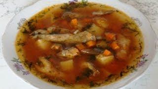 """Суп """"Бычки в томате"""" / Soup """"Gobies in tomato sauce"""""""