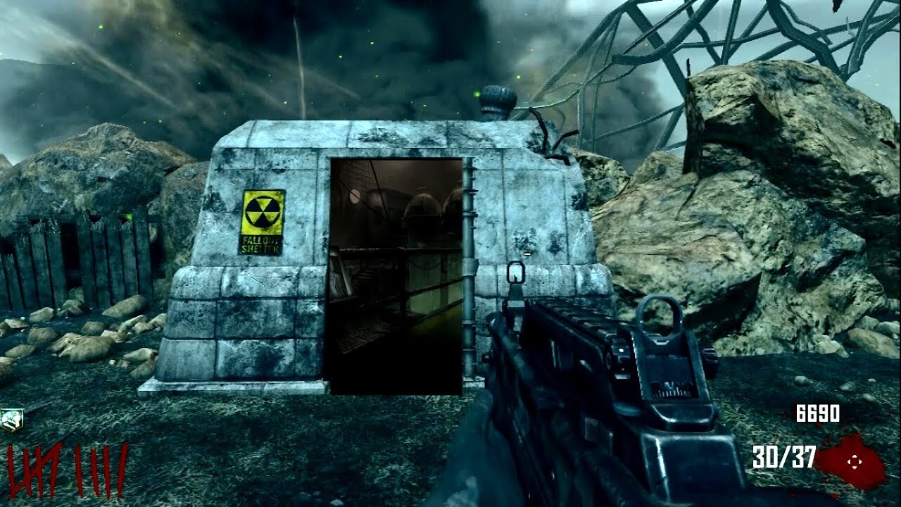 black ops 2 - how to open the fallout shelter possibly (easter egg