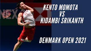 [highlight]Kento Momota  vs Kidambi Srikanth    Denmark Open 2021