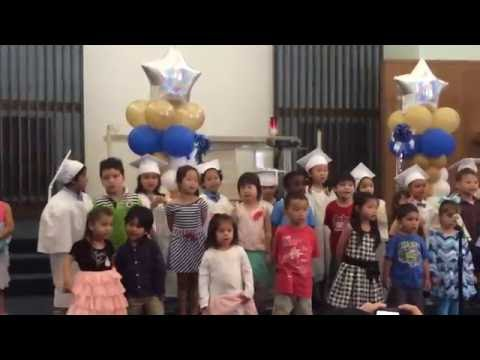 Graduation Performance 1 @ Meher Montessori School 6-15-2016