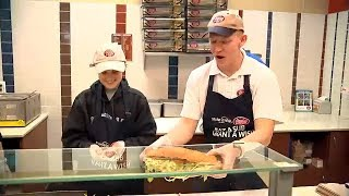 Make a Wish surprises 12-year-old cancer survivor with a trip to Costa Rica in Jersey Mikes