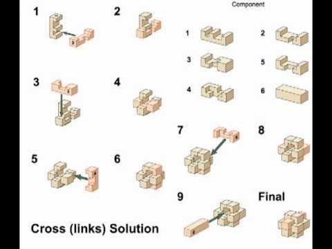 wood cross puzzle solution 2
