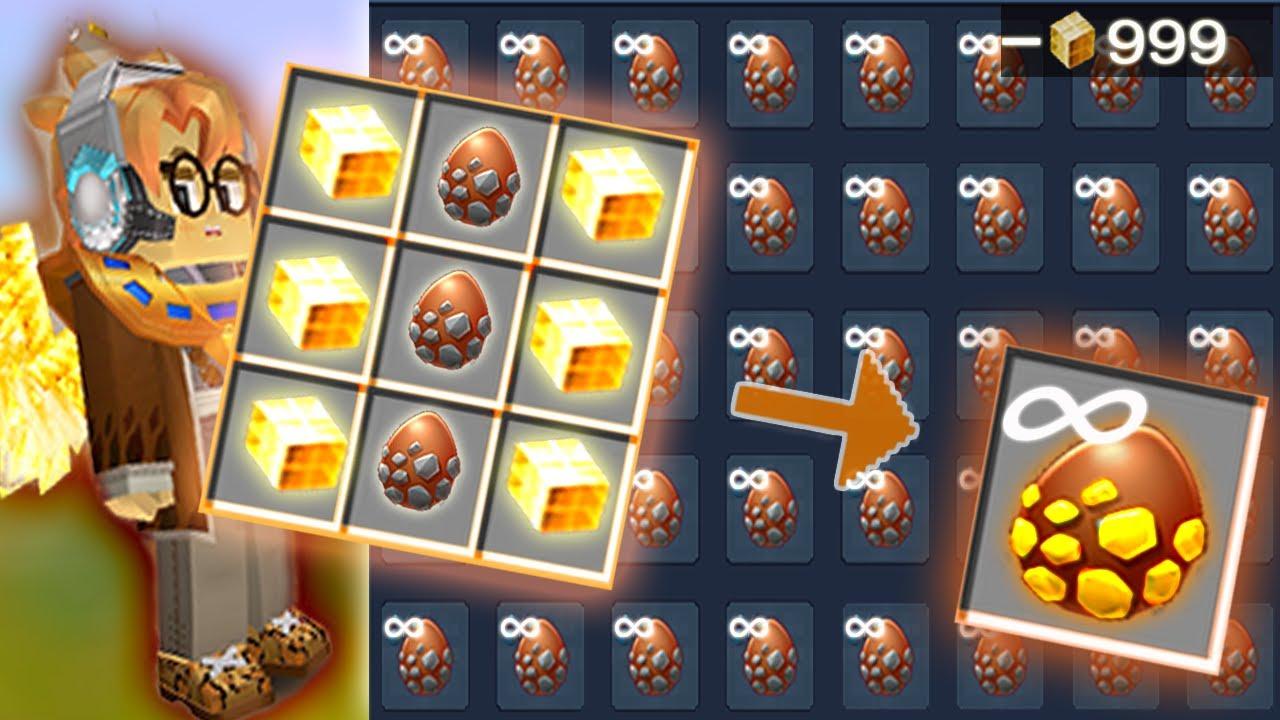 Power Of Gcubes Ep 5 - INFINITE BRIDGE EGGS In Bed Wars | Blockman Go Gameplay (Android , iOS)