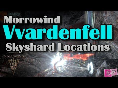ESO: Morrowind Vvardenfell Skyshard Locations!