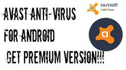 Hack Latest Avast Antivirus and Mobile Security 6.0.1 With lucky Patcher. See must for your security