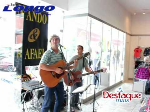 Nando & Rafael nas Lojas Longo 21 01 2012