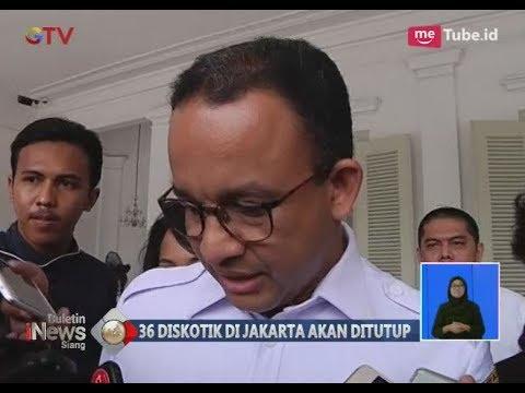 36 Diskotik Jakarta Sarang Narkoba, Anies Baswedan Akan Temui Buwas - BIS 22/02