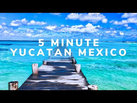 5 Minute Yucatan Peninsula (WATCH THIS Speed Travel in Mexico)