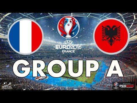 PES 2016 - EURO 2016 - Group A - France v Albania