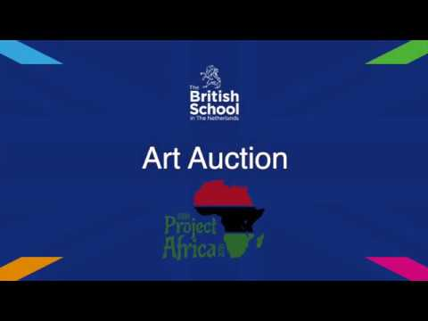Art Auction, Project Africa - The British School in The Netherlands