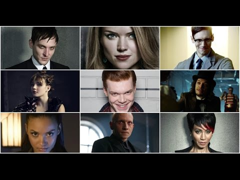 Gotham - All The Best People Are Crazy (all villains)
