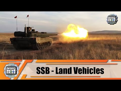 Turkish Defense Industry SSB latest technology of tracked armored and combat security vehicles