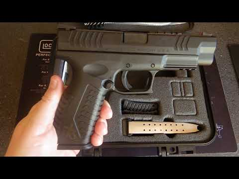 Springfield Armory XDM 4.5 9mm Unboxing