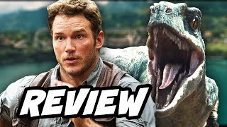 Jurassic World Review - Chris Pratt Raptor Jesus