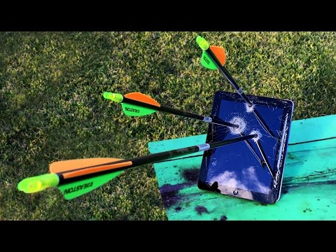 Don't Shoot Arrows into Your iPad! - GizmoSlip